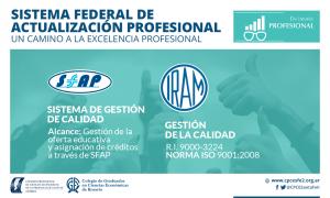 Sistema Federal de Actualización Profesional SFAP