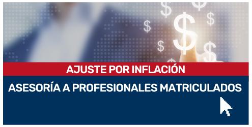 Consultoría Ajuste por inflación
