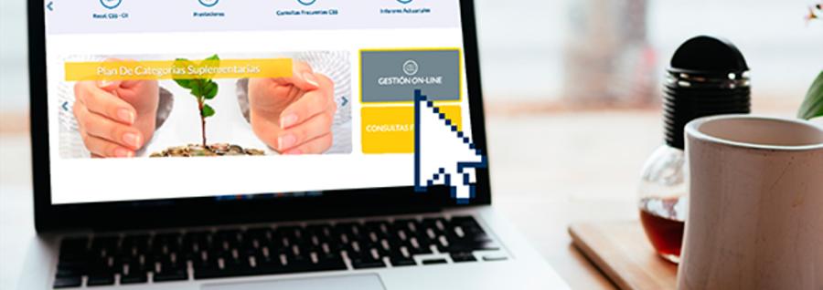 Los recibos de prestaciones previsionales pueden descargarse desde nuestra web