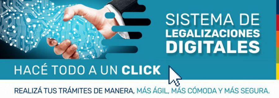 Legalizaciones digitales: régimen de excepción